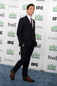 LOS ANGELES - MAR 1:  Joseph Gordon-Levitt at the Film Independent Spirit Awards at Tent on the Beac