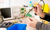 picture of cpu  - repair and adjustment of the electronic device - JPG