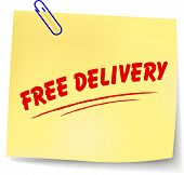 Free Delivery Message