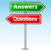 Questions And Answers Signs