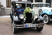 Baden-baden, Germany July 12: The International Exhibition Of Old Cars
