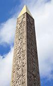 Obelisk At Place De La Concorde, Paris