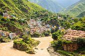 Village At The Bank Of Ganges River