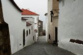 Street At Evora Town, Portugal