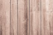 Surface Of Old Wooden Boards Brown Color