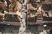 Strasbourg Houses. France.