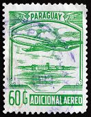 Postage Stamp Paraguay 1988 Plane