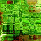art abstract colorful acrylic background in green color