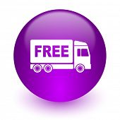 free delivery internet icon