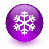 snow internet icon