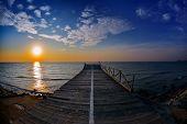 seascape at sunrise, Tuzla, Romania