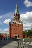Trinity Tower Of Moscow Kremlin