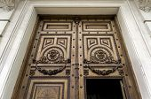 Old Wooden Ornate Door