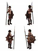 Dragon Warrior Boy Fantasy Character Set