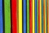 Colored laths