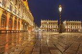 Stanislas Square At Rainy Evening, Nancy