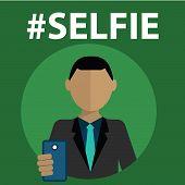 Selfie, taking self photo