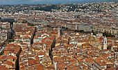 City Of Nice - View Of The City From Above