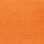 Orange Fabric Background