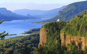 Crown point & Columbia River Gorge, OR.