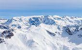 Plateau with the glacier