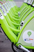 Budapest, Hungary - December 12 2014:new Budapest Bike Hire Called