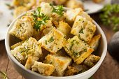 Fresh Homemade French Croutons