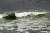 Breaking Waves In Ocean Water