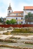 Ruins In Sao Jorge Castle