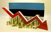 currency collapse - Estonian economy