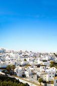 Landscape Of A White Town, Vejer De La Frontera In Andalusia, Spain.