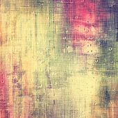 Grunge, vintage old background. With different color patterns: yellow (beige); brown; pink; green