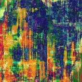 Grunge old texture as abstract background. With different color patterns: yellow (beige); red (orange); blue; green