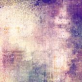Antique vintage textured background. With different color patterns: purple (violet); yellow (beige); gray; blue