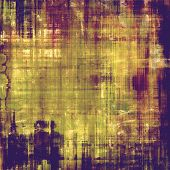 Old background or texture. With different color patterns: purple (violet); yellow (beige); brown; green