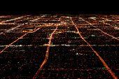 Las Vegas Overhead View