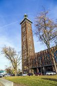 Historic Old Fair Tower In Cologne