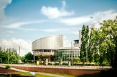 European Court Of Human Rights - Tilt-shift View