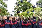 The graduation ceremony