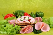 Ham With Vegetables.