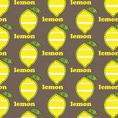 Pattern With Lemons