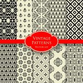Vintage patterns set 2