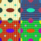 Seamless Patterns Geometric Shapes