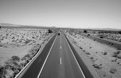 picture of hells angels  - Unique View of the Interstate 15 Freeway from an overpass heading North towards Las Vegas - JPG