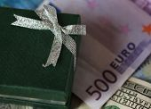 image of depreciation  - present box and money  - JPG