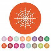 picture of spiderwebs  - The spiderweb icon - JPG