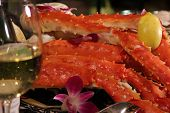 King Crab And Wine 2