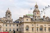 stock photo of great horse  - Horse Guards building in London  - JPG