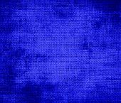 picture of bluebonnets  - Grunge background of bluebonnet burlap texture for design - JPG