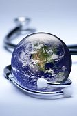 pic of health-care  - Concept for global medicine - JPG